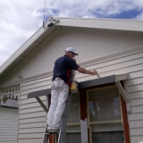 Weatherboard-painting-in-progress